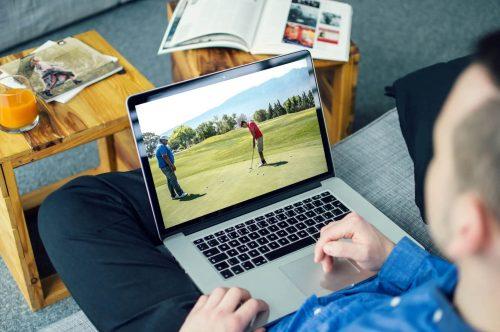 cours de golf en ligne